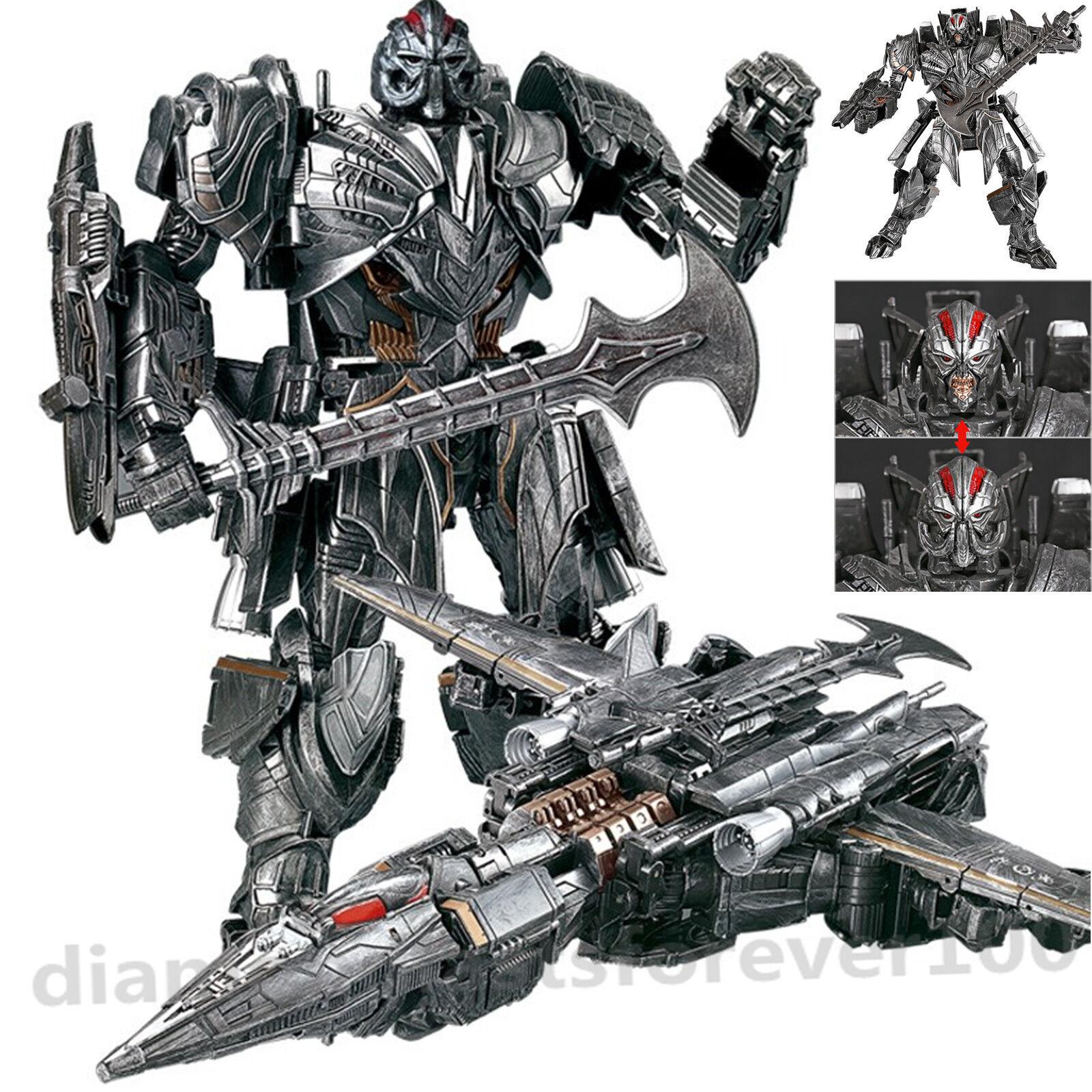WeiJiang Transformer Megatron Action Figure Battle Damaged Rendsora Kid Toy Gift