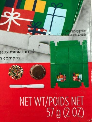 Details about  /Christmas Tree Pull-Apart Mini Cupcake Decorating Kit from Wilton New in Box