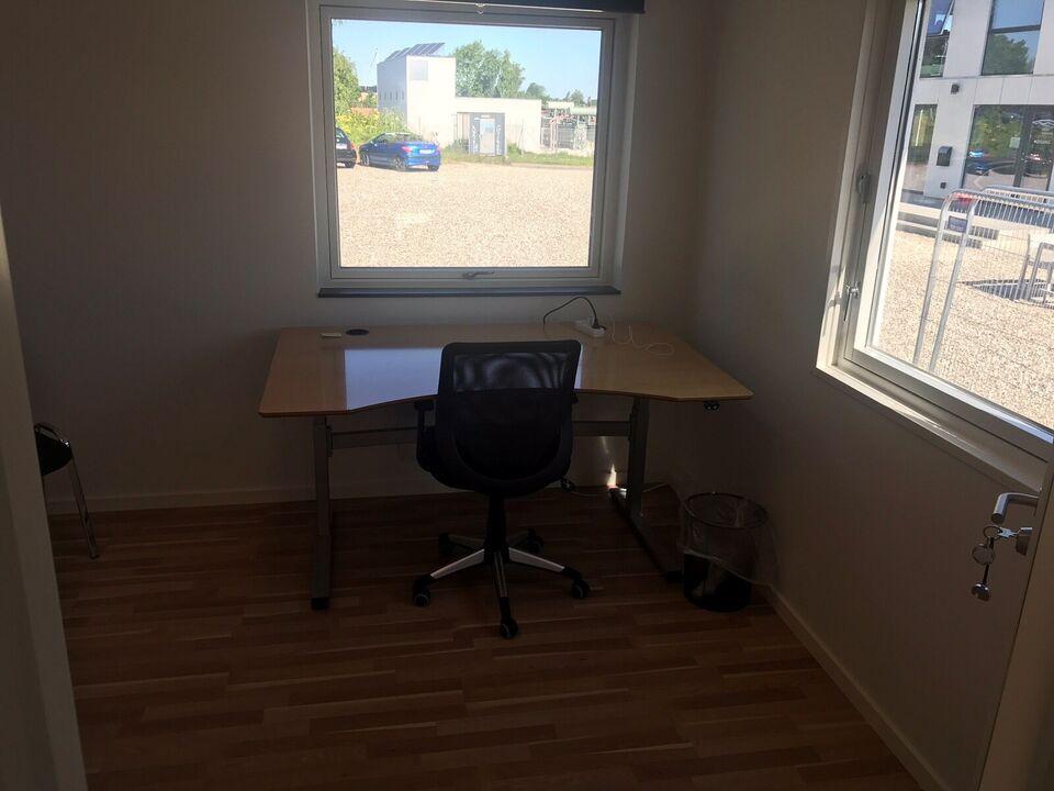 Ny istandsat kontor pavillon