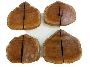Australian BURLS 2 LBS.! SLABS Bowl Cap Cutoffs Beautiful