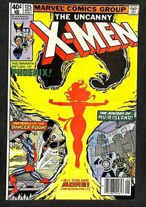 Uncanny-X-Men-125-VF-7-5-1st-appearance-Proteus-Wolverine-Phoenix