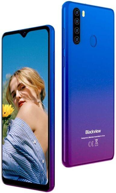 """Blackview A80 Pro Ecran 6,49"""" Smartphone débloqué 4G 4Go+64Go Dual SIM Téléphone"""