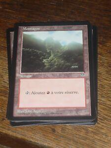 MTG-Magic-the-Gathering-MONTAGNE-version-1-Mirage-French-RARE-like-NEW