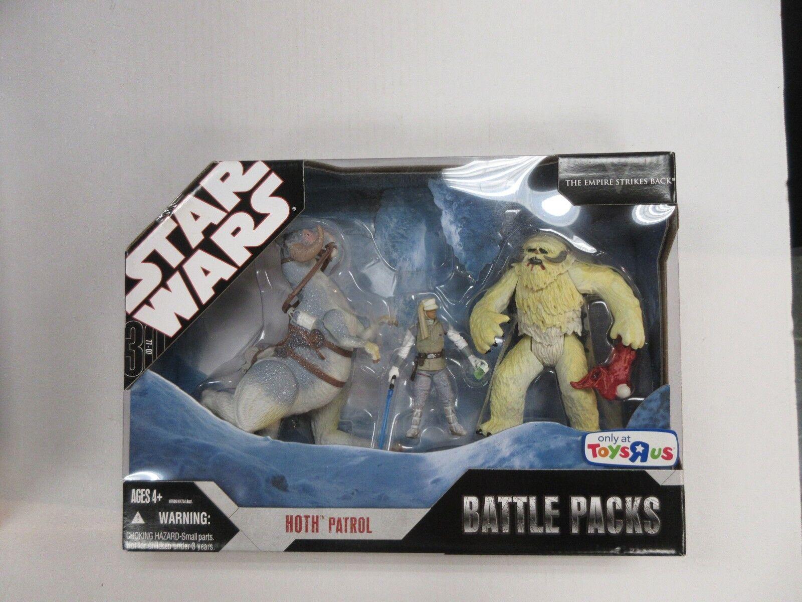 HASBRO Star Wars TRU exclusivo Hoth patrulla 3 Figura Set Nuevo en Paquete Sellado