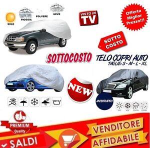 TELO-COPRIAUTO-COPRI-AUTO-IMPERMEABILE-PEVA-PVC-TAGLIA-L-NYLON-ANTI-GHIACCIO-NEW