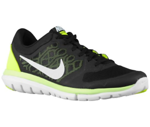 Nike Flex Run, Men's New, 9022004, Black Volt