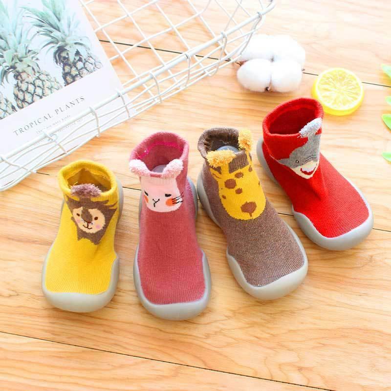 Baby Boy Girl Slipper Socks Kids Fall