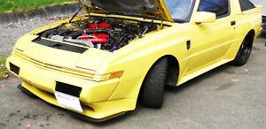 Mitsubishi Starion Dodge Conquest front bumper chin spoiler splitter