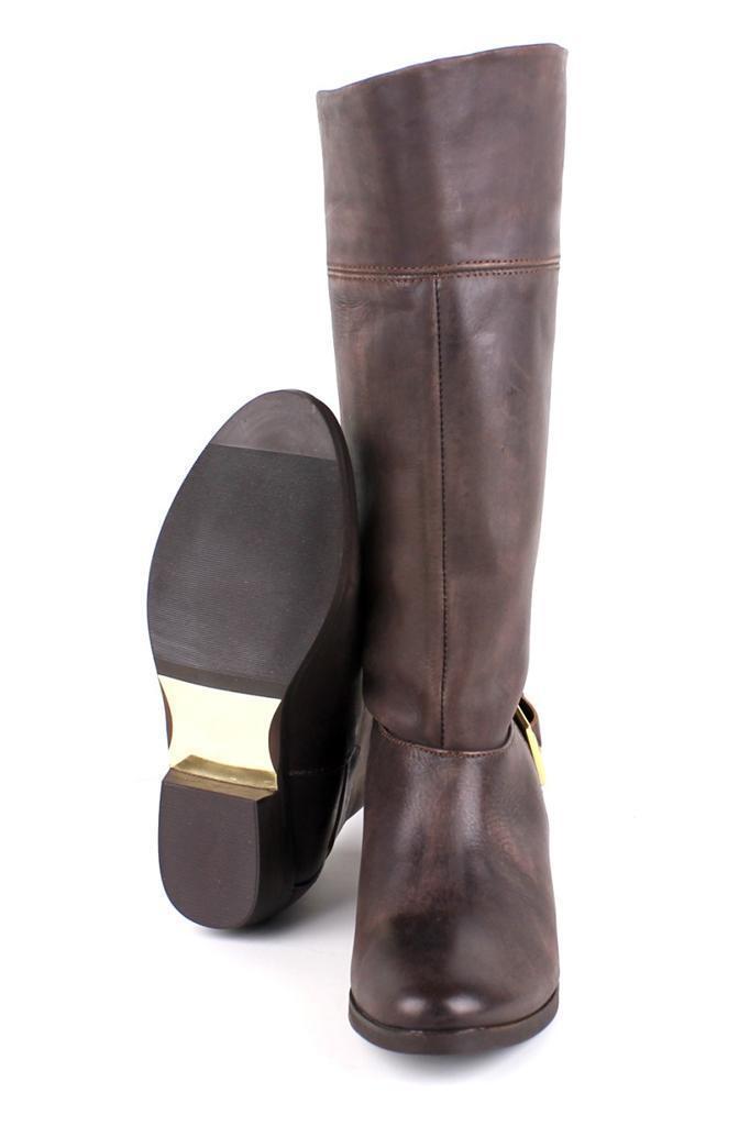 Ted Baker Para Mujer Bronko Marrón Marrón Marrón Oscuro Pull a montar Arranque Hebilla diseñador Zapatos Nuevos abdd50