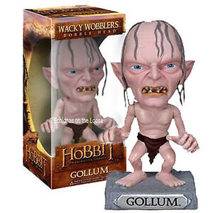 Lord-of-the-Rings-The-Hobbit-GOLLUM-Bobble-Head-Wacky-Wobbler-Tolkein-FUNKO-2844