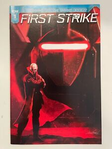 IDW FIRST STRIKE #1 RE COVER : HTF! : NM CONDITION