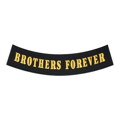 Rocker Patches Brothers Forever Gold Rocker Patch