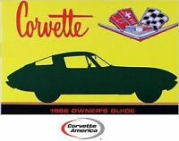 1966 Corvette Owner's Manual (new Officially Licensed Reprint)