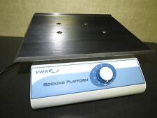 Vwr Rocking Platform Model 100 Fully Adjustable Wave Effect Shaker Exceptional