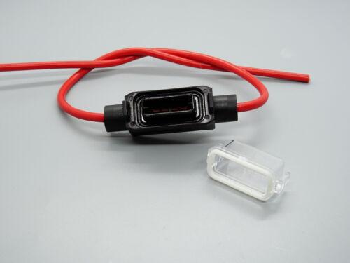 1x Kabelverbinder Sicherungshalter für Mini Stecksicherungen Wasserdicht
