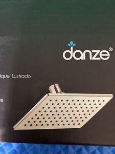 BRAND NEW Danze D460059PNV Mono Chic 2.0 GPM Rain Shower Head Polished Nickel