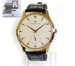 Jaeger LeCoultre Master Grande Ultra Thin 18k Rose Gold 40mm Q1352420 Box Papers