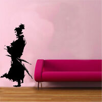 Samurai Design 1 Vinyl Wall Sticker Art Ninja Japanese Oriental Sword