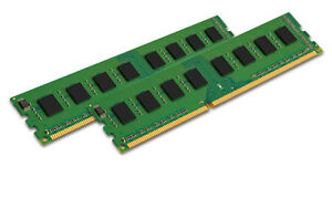 16GB 2x 8GB DDR3 1600MHz PC3-12800 DESKTOP Memory RAM Non ECC 1600 Low Density