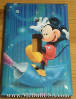 Mickey Mouse Color Printing Paint Light Switch Power Outlet Cover Plate & More