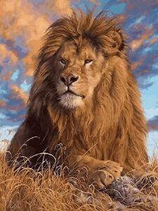 Peinture-par-Numeros-DIY-Peinture-Acrylique-Image-Art-Lion