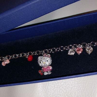SWAROVSKI Swarovski Hello Kitty Charm Bracelet Limited Edition Character  Sanrio | eBay