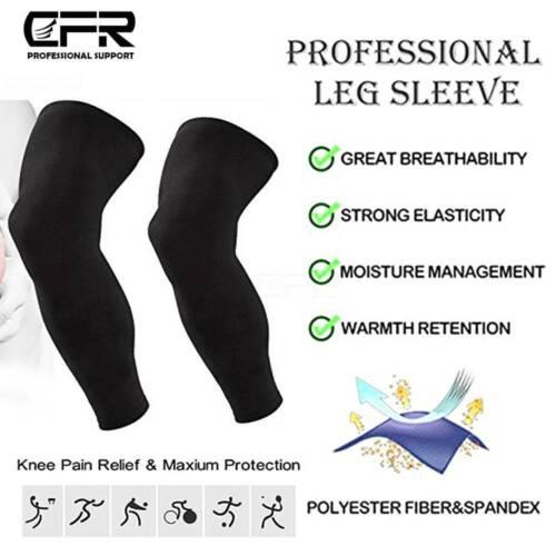 Leg Brace Thigh Knee High Compression Sleeve Socks Support Pain Relief Men Women