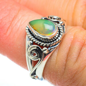 Ethiopian Opal 925 Sterling Silver Ring Size 6 Ana Co Jewelry R46782F