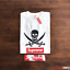 DSWT-Supreme-Neighborhood-Rebel-Without-a-Pause-Box-Logo-Tee-Pirate-2006-New thumbnail 1