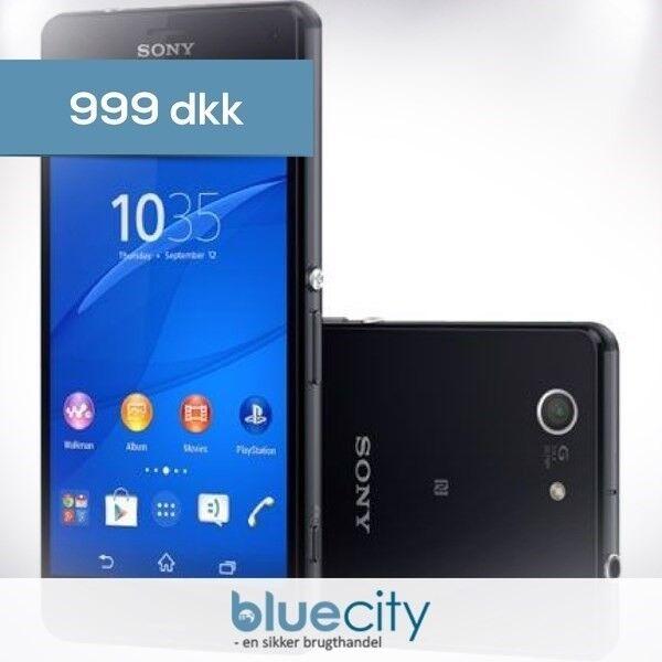 Sony Sony Xperia Z3 Compact 16GB Sort, Sony Xperia Z3