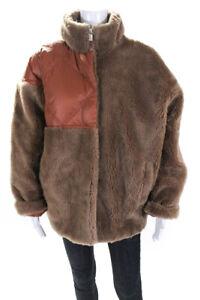 Lu-Mei-Womens-Southall-Wool-Jacket-Camel-Size-Large