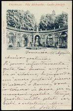 cartolina FRASCATI villa aldobrandini-cascata principale