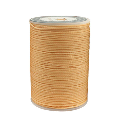 0.8mm Waxed Polyester Linhasita Cord Macrame Bracelet Thread String QY
