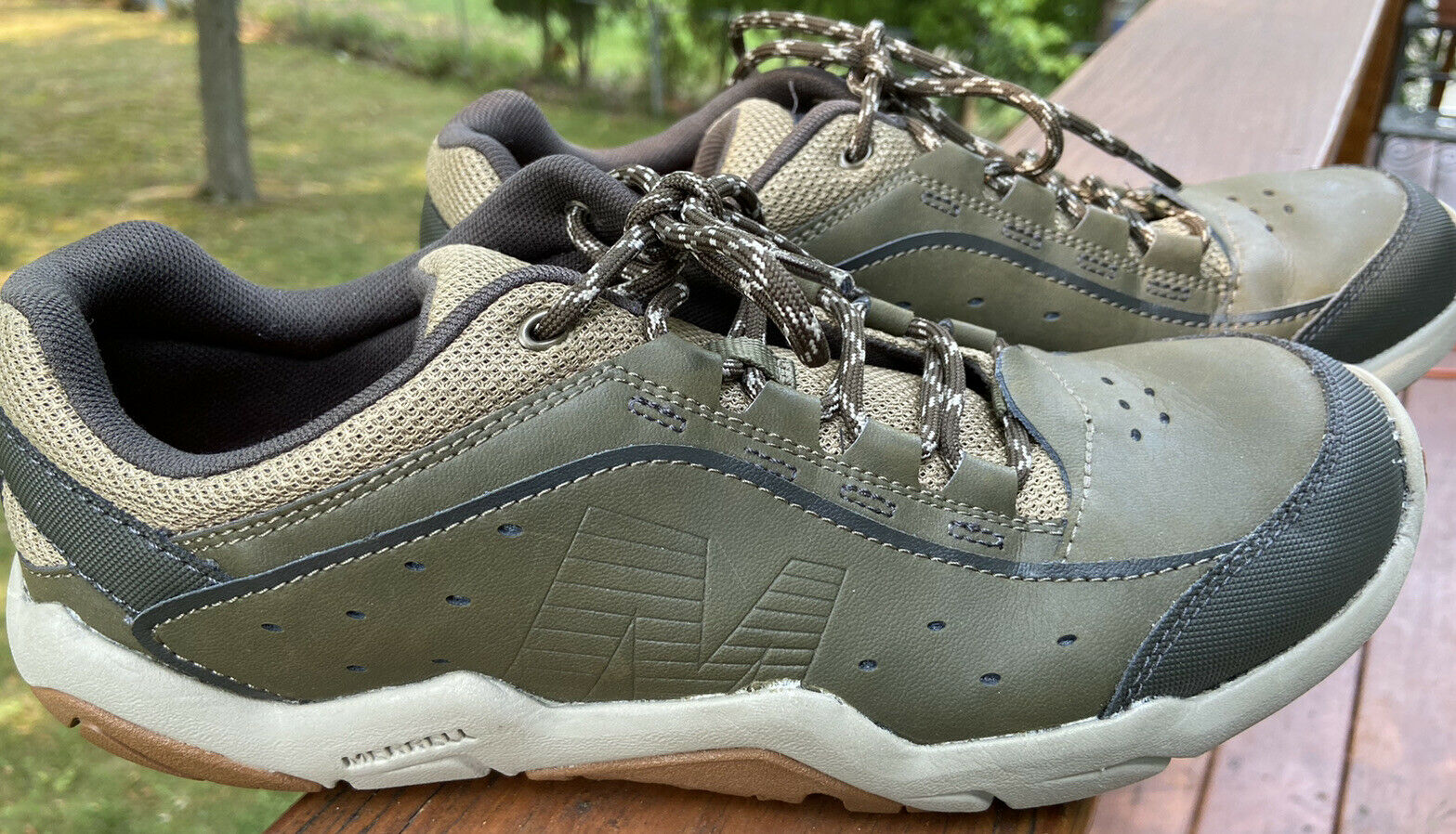 Merrell Traveso Dusty Olive Lace-Up Hiking Sneaker Shoes J310544C Mens Size 9