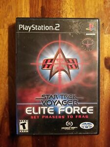 Star-Trek-Voyager-Elite-Force-PS2-Complete-Sony-PlayStation-2-2001