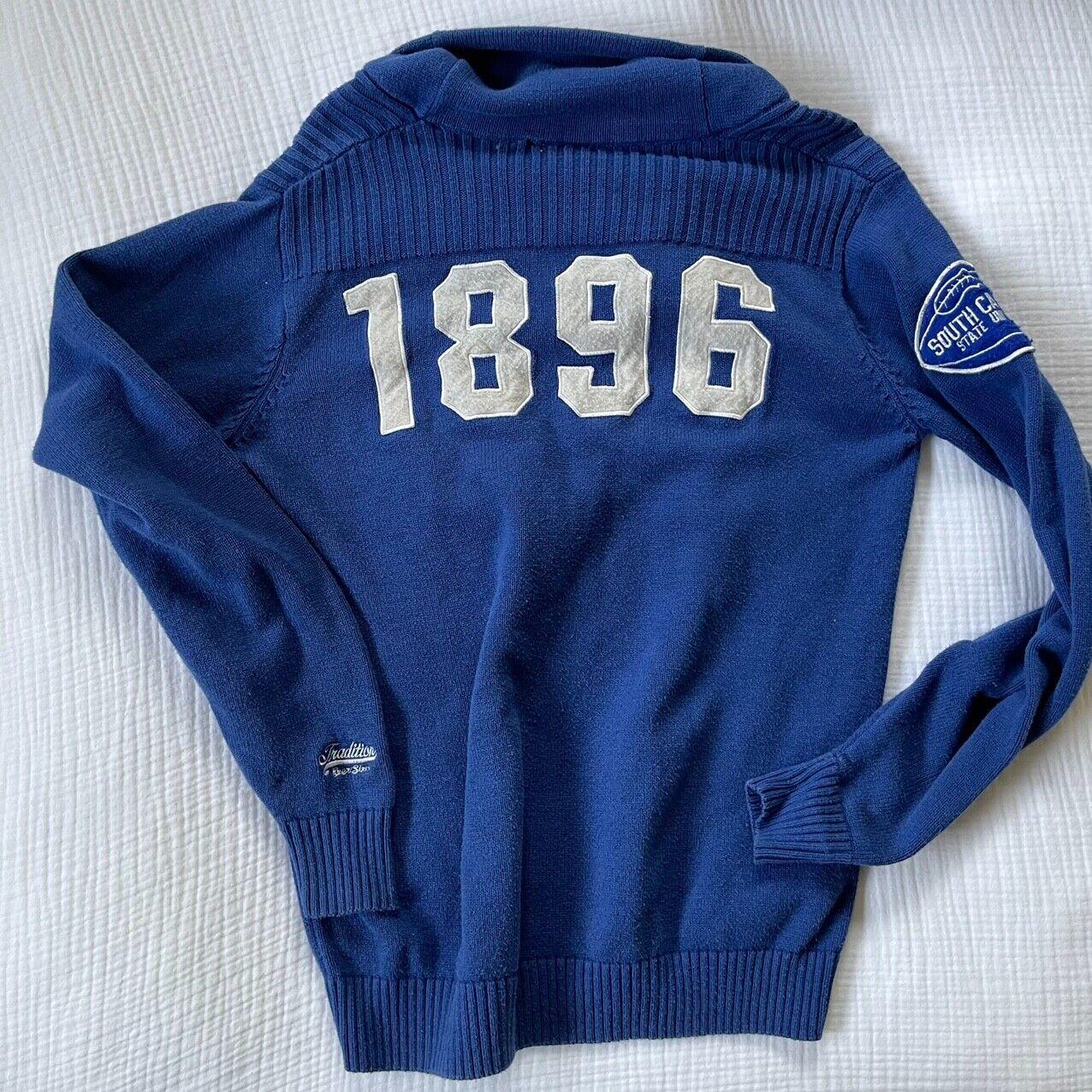 1896 Vintage Bulldogs Varsity Sweater  - image 4