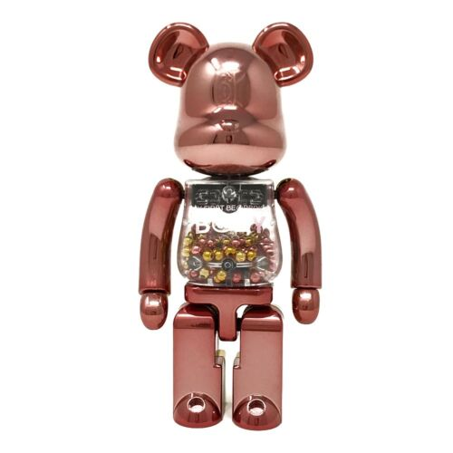 200/% Bearbrick Figure Medicom Super Alloy My First BE@RBRICK Pink Gold Ver