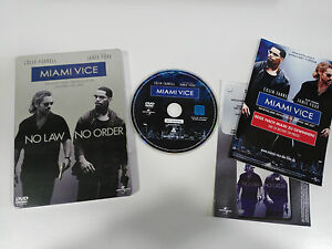MIAMI-VICE-DVD-STEELBOOK-EXTRAS-ENGLISH-DEUTSCH-ITALIAN-GERMAN-EDITION