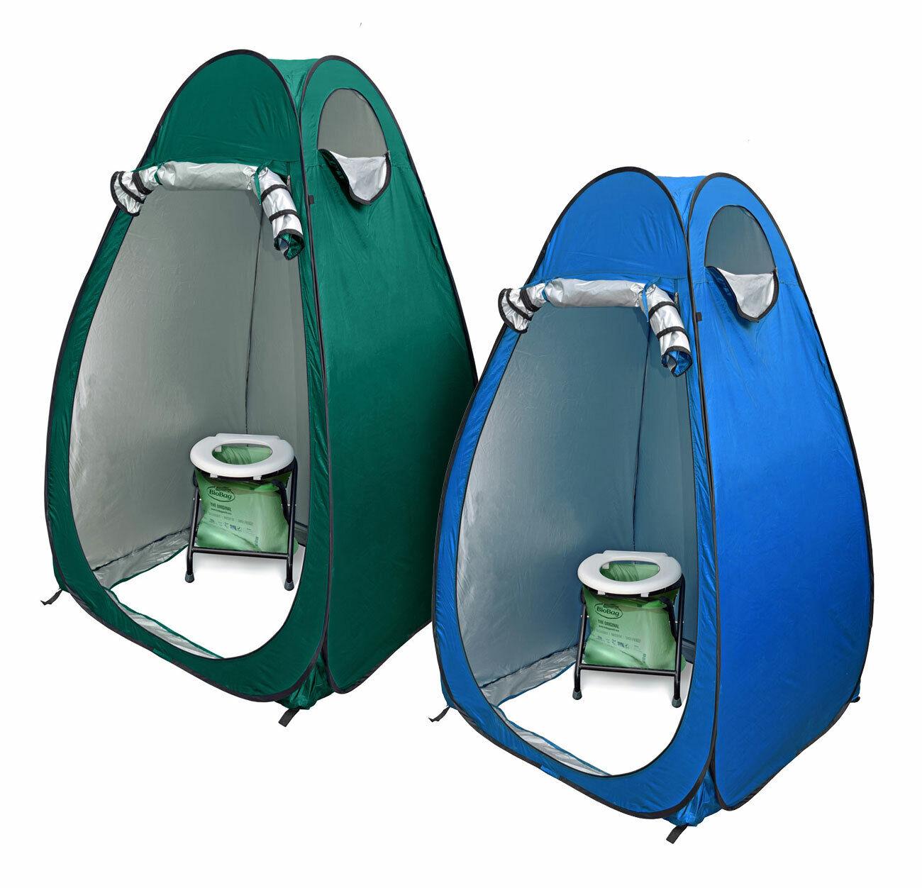 24 Ocean WC borsaNO TOILETTE pieghevole sacca compost popup Tenda duschzelt nello spogliatoio Tenda