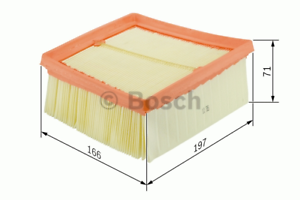 Luftfilter Bosch F 026 400 135