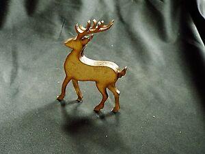 Lot de 4 ressorts 3D standing deer-cerf-renne-rudolf 75mm haut kit #RD02-deer-Rudolf 75mm high kit #RD02afficher le titre d`origine u0S6uLrn-07202844-309056599