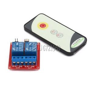 12V-2-Channel-2CH-IR-LED-Relay-Driver-Module-Infrared-Remote-Control-Receiver