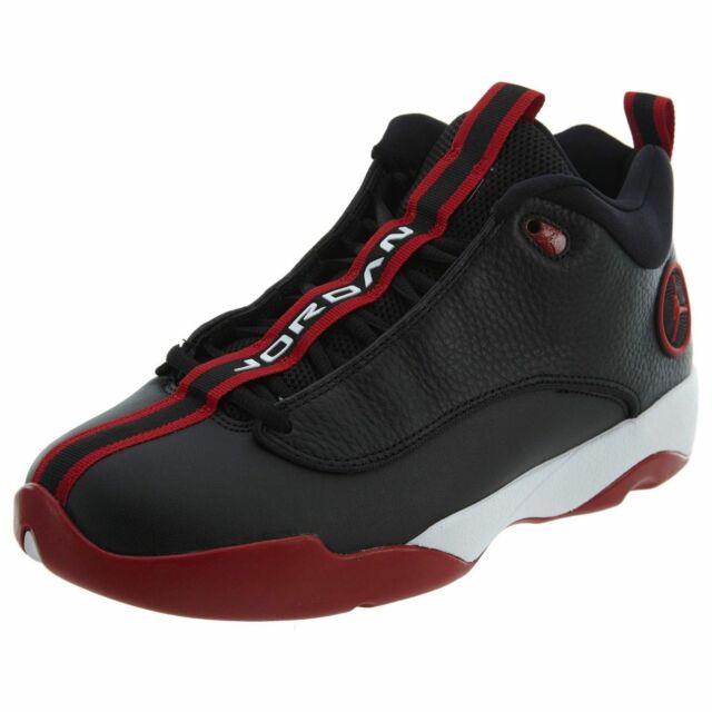 757de76256d Nike Air Jordan Jumpman Pro Men's Basketball Shoes Black Gym Red 932687 001