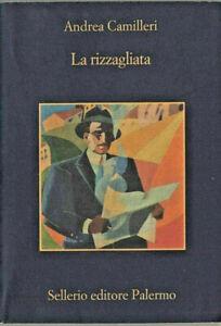 LIBRO-Andrea-Camilleri-La-Rizzagliata-Sellerio-Editore-Palermo-2009-ITALIANO