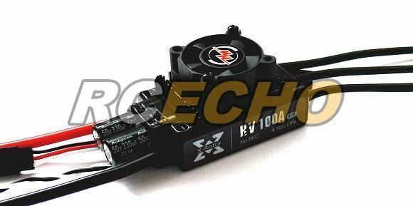 HOBBYWING XRotor 100A HV RTF RC Model Brushless Motor ESC Speed Controller SL085