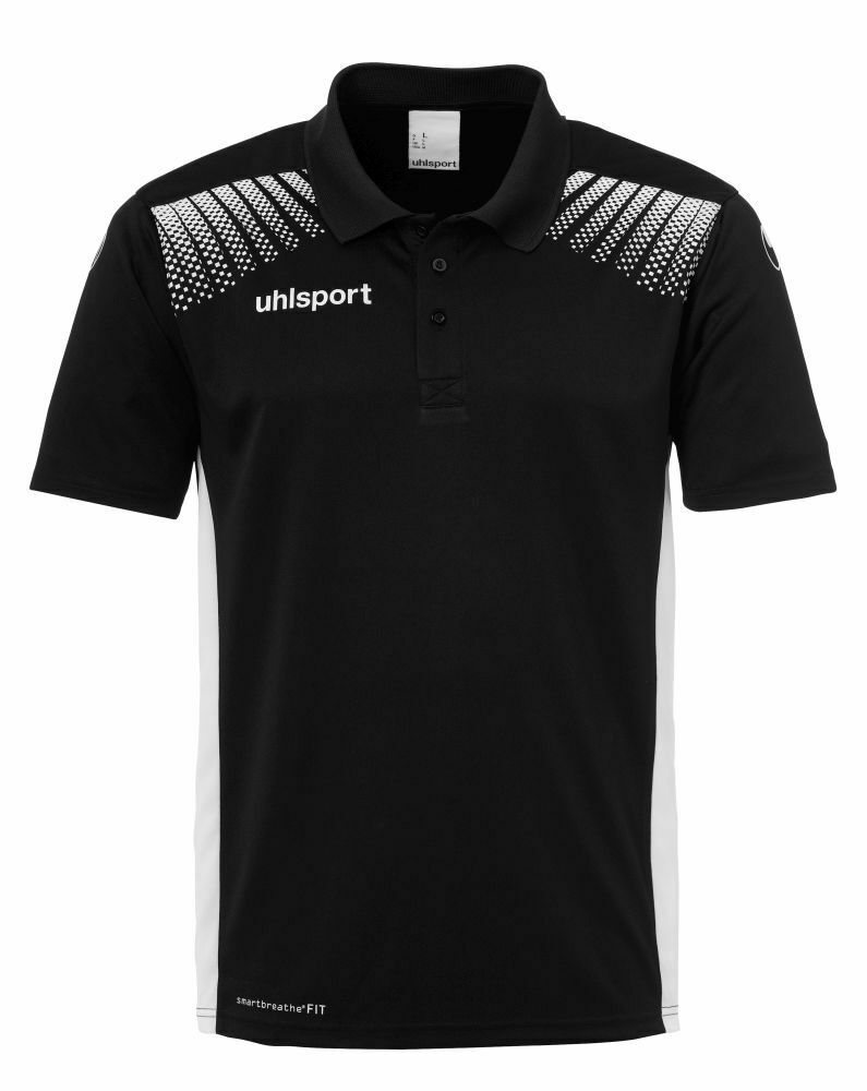 Uhlsport Fußball Goal Polo Shirt Herren Poloshirt schwarz weiß  | Öffnen Sie das Interesse und die Innovation Ihres Kindes, aber auch die Unschuld von Kindern, kindlich, glücklich