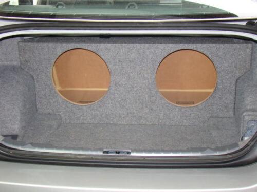 "Zenclosures 2006-2012 BMW 3 Series 2-10/"" Sub Subwoofer Box Fits Coupe /& Sedan"