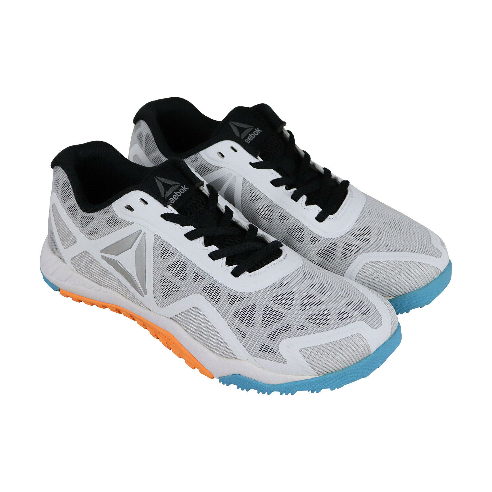 Reebok Ros Workout Tr 2.0 Mens White Low Top  Athletic Gym Cross Training shoes  discount