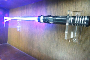 New Lightsaber Wall Mounts Stand For Lightsaber Force Fx Clear Top Saber Stand Ebay