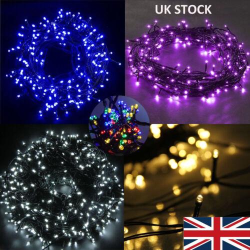 50-500 LED Solar Powered Fairy String Lights Garden Party Decor XMAS Outdoor DIY